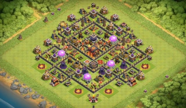 Strategi Jitu Terbaik COC TH 10 Anti Miner dan Blower 100%