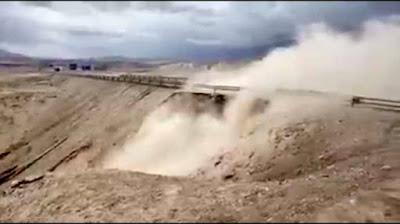 Chuquicamata retoma operaciones tras intensas lluvias en medio de millonarias pérdidas y denuncias por malas condiciones en la faena