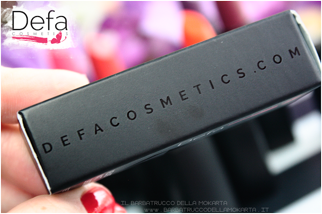 packaging review Defa cosmetics lipstick
