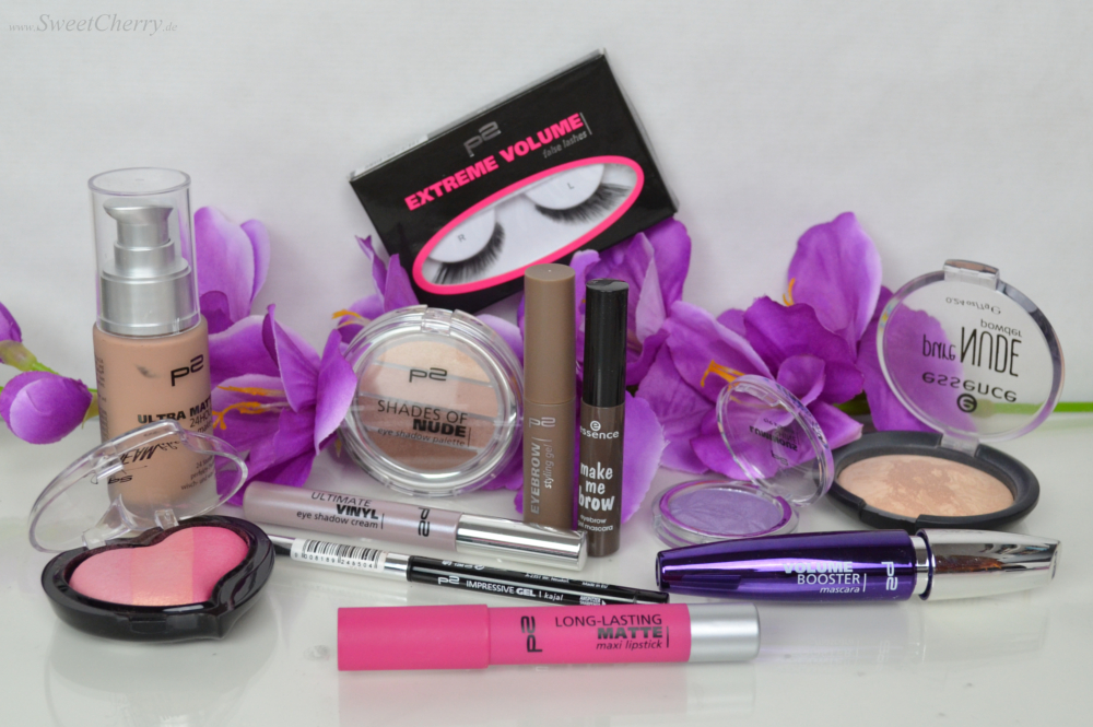 Look Battle + Review All about p2 cosmetics