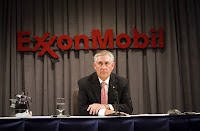 U.S. Secretary of State Rex Tillerson was Exxon's CEO from 2006 to 2016. A subpoena of records held by Exxon's auditor targets 2010 to the present. (Credit: Brian Harkin/Getty Images) Click to Enlarge.