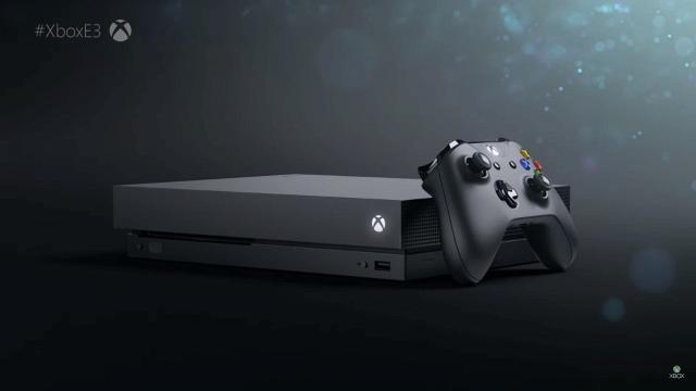 Microsoft anuncia o Xbox One X