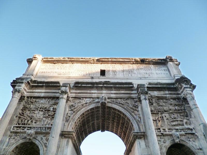 settimio severo - 23 Monumentos do Fórum Romano
