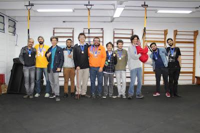 Da esquerda para direita: equipes da Each, Fflch e IME