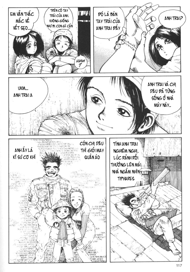 Battle Angel Alita chapter 10 trang 25