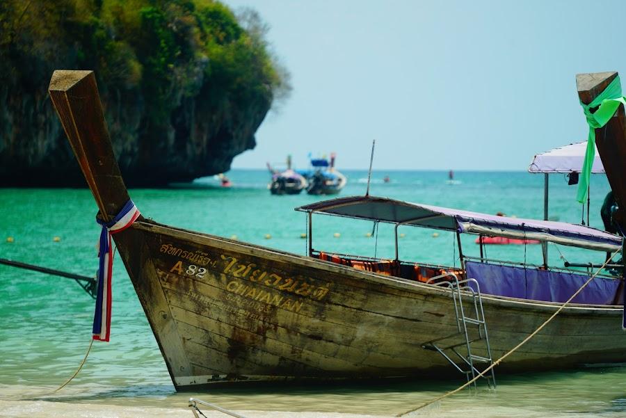 Barcos longtail de Tailandia, las góndolas del sur