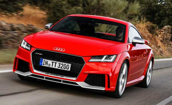 2016 Audi TT RS Coupé release date, price, and review