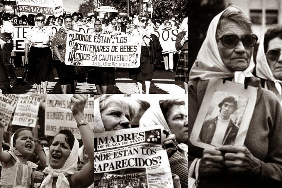 Les mères de la place de mai - Argentine