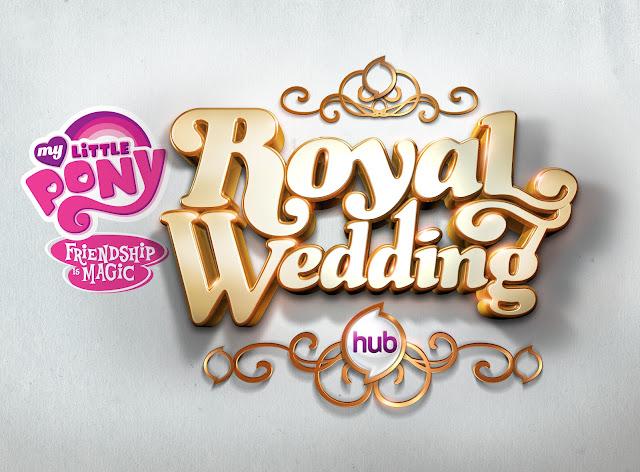 My Little Pony Royal Wedding Invitation