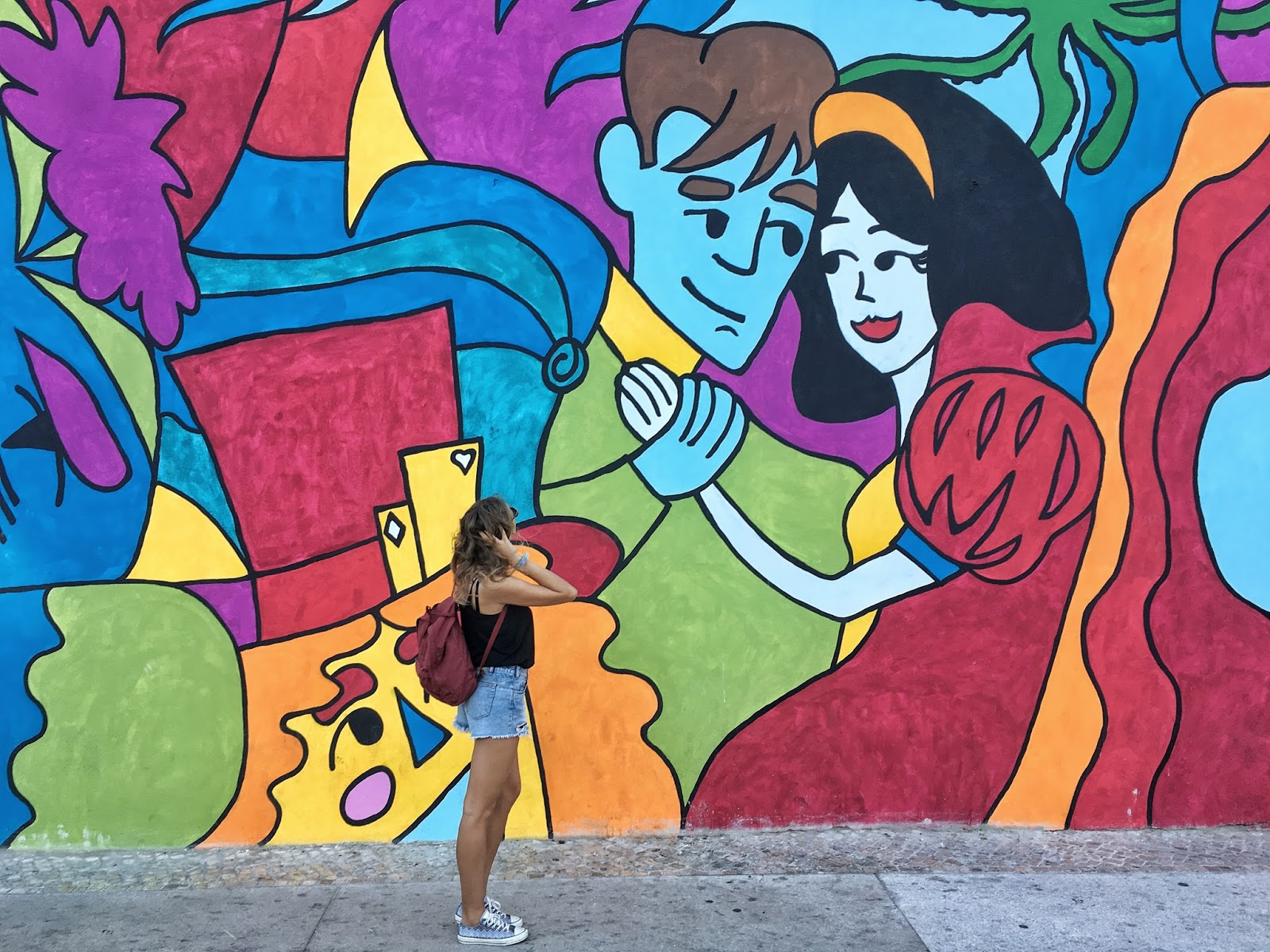 Lisabon, Lisbon, Portugal, Portugalsko, Graca, street art