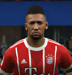 PES 2017 Faces Jerome Boateng by FaceEditor Jefferson_SF