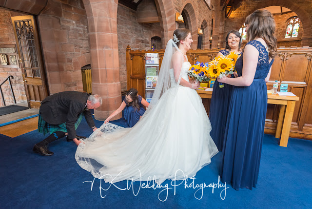 St Pauls Parish Church Milngavie Wedding Photography
