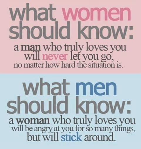 How A Man Should Love A Woman Quotes: What Women Should Know : A Man Who Truly Loves You Will
