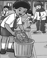 MI Tema Lingkungan Bersih Asri dan Sehat Edisi Revisi dan dilengkapi dengan kunci balasan Soal UKK Kelas 1 Tema 6 Terbaru + Jawaban Th. 2018