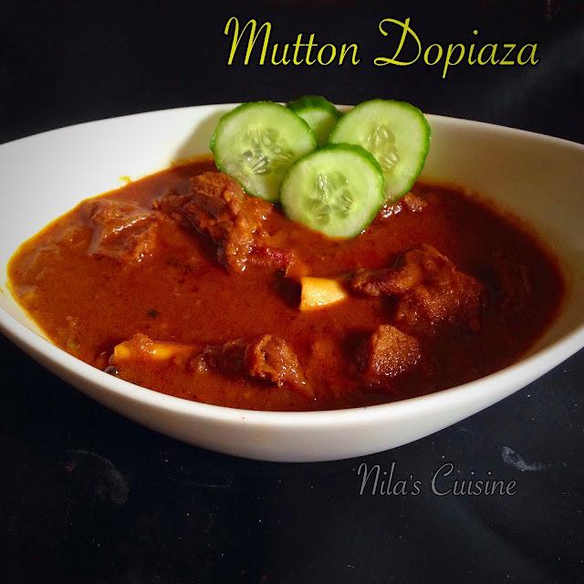 Mutton Dopiyaza/Gosht Dopiyaza/Mutton Dopiaza