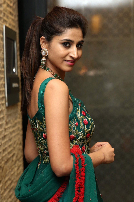 Actress Varshini Hot Saree Stills Varshini Hot Photo