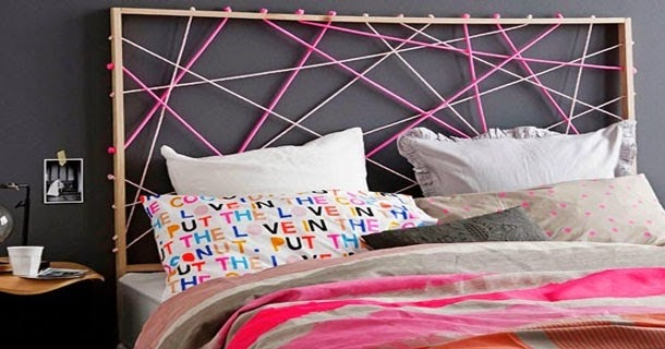 d co fait main id es pour d coration d 39 une t te de lit. Black Bedroom Furniture Sets. Home Design Ideas