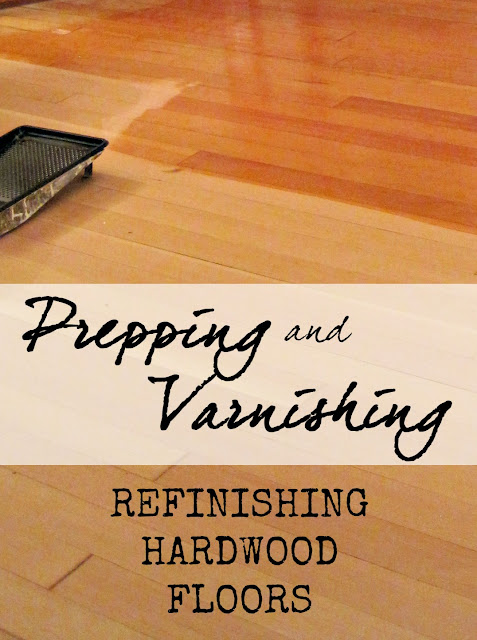 prepping and varnishing hardwood floors refinish reclaim diy