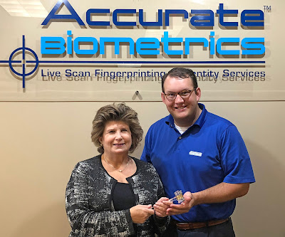 Photo of Tim Daniels, new President of Accurate Biometrics