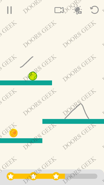 Draw Lines Level 25 Solution, Cheats, Walkthrough 3 Stars for Android and iOS