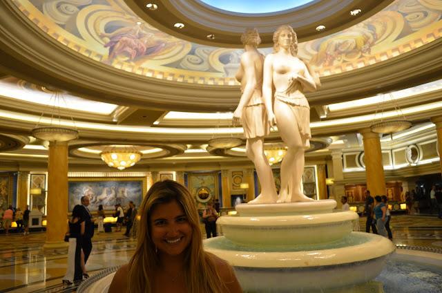 Lobby do Caesars.