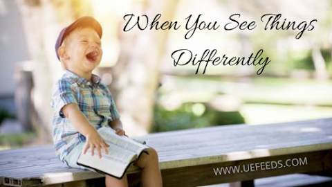 Renew Your Mind Everyday and See Things Differently