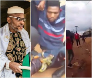 Nigerian army storm Nnamdi Kanu's home, allegedly shoot IPOB members