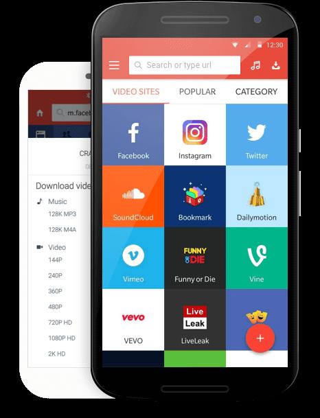 تطبيق سناب تيوب لتحميل الفيديوهات والموسيقى