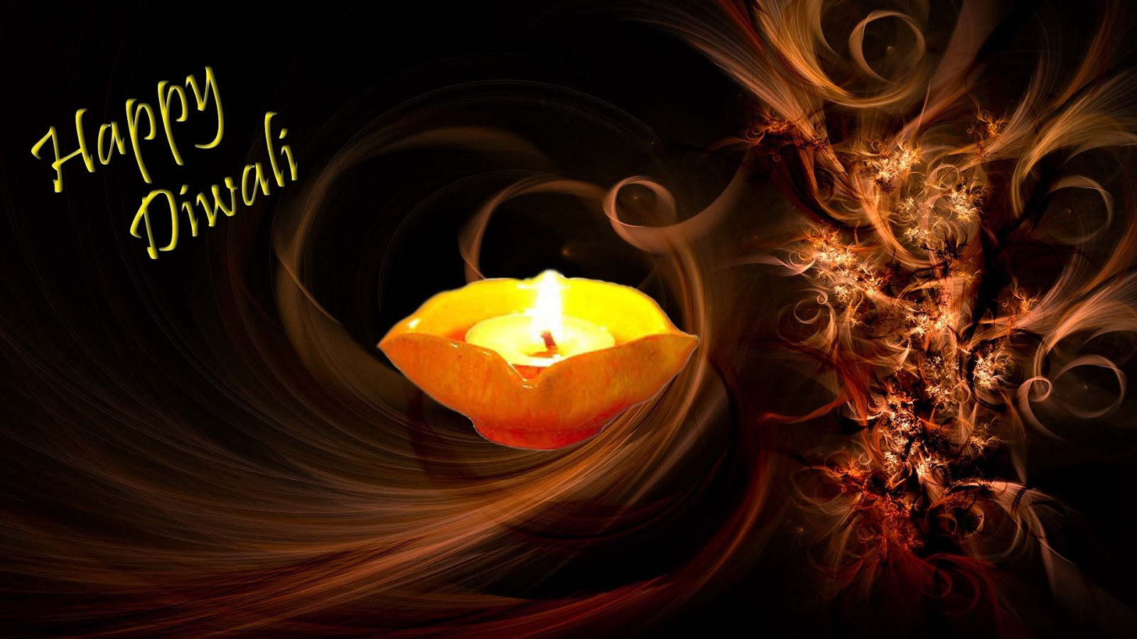 Diwali Holiday Deepak Wali Wishes Wall Papers Images