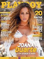 Joana Duarte capa Playboy Portugal