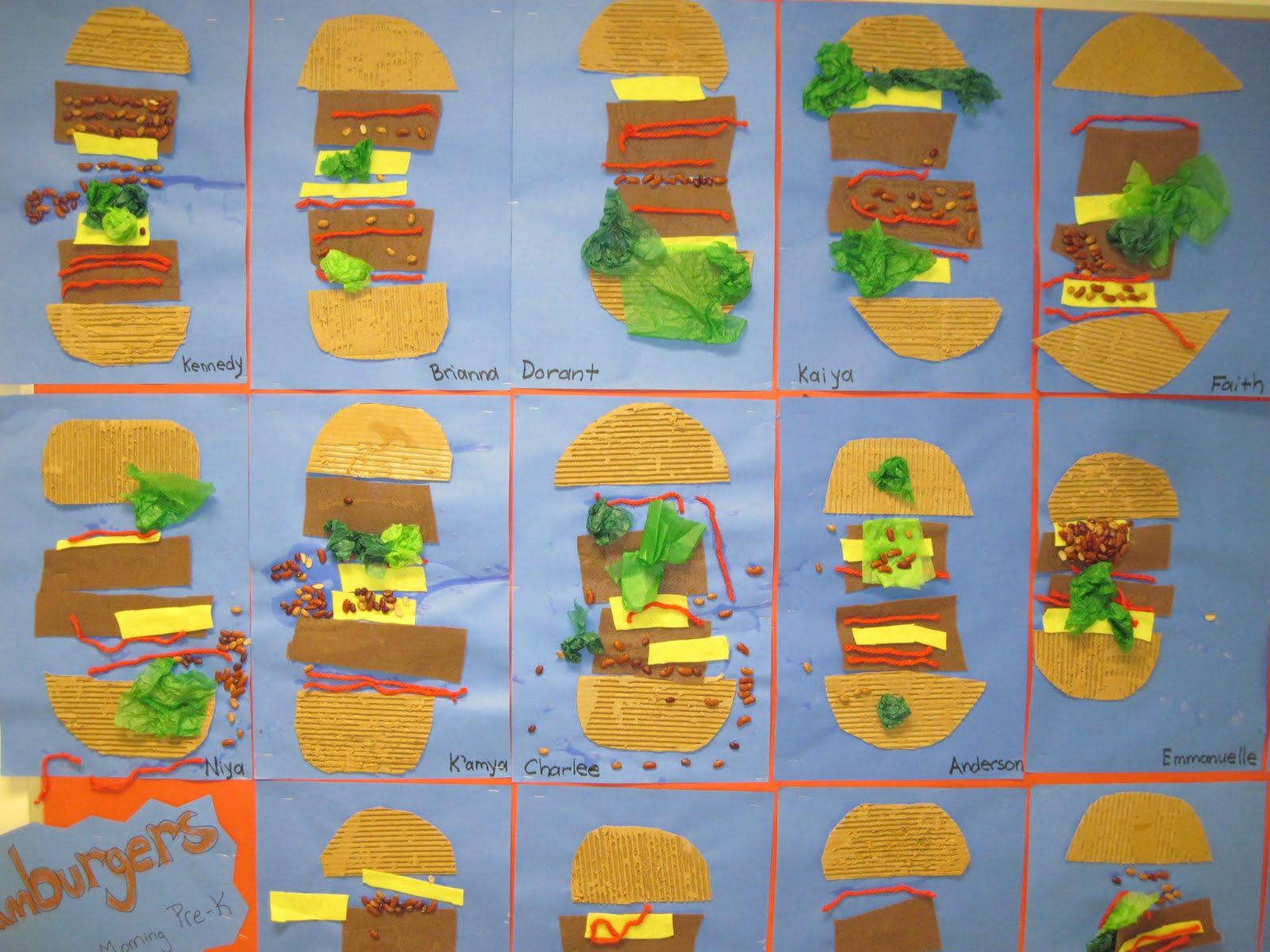 Lines Dots And Doodles Hamburgers Pre K