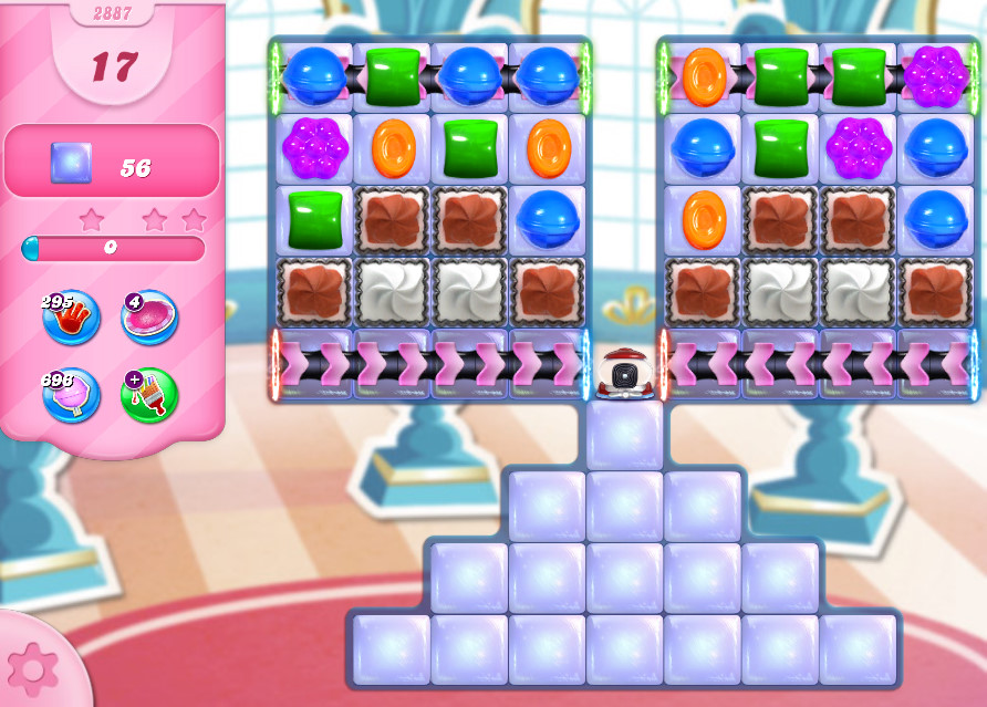 Candy Crush Saga level 2887