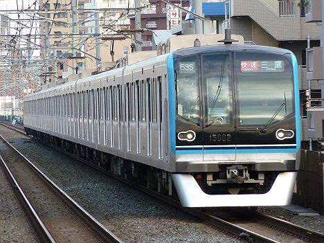 東京メトロ東西線 快速 三鷹行き4 15000系