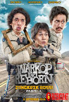Cover Film Warkop DKI Reborn: Jangkrik Boss! Part 1 (2016)