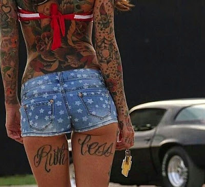 5 tattoos popular girl today