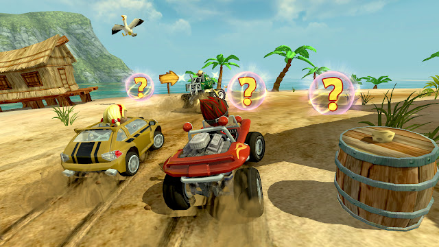 Beach Buggy Racing Unlimited All MEGA MOD
