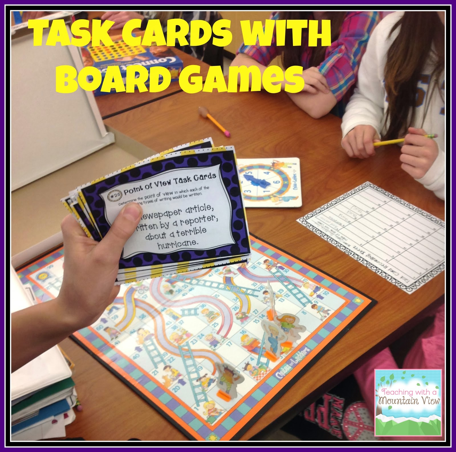 15 Activities To Use With Task Cards