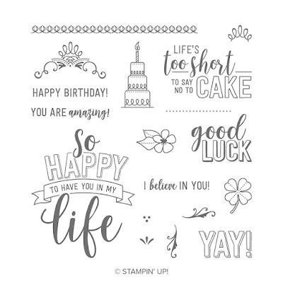 Amazing Life Stampin' Up! Stamp Set. Order from Mitosu Crafts UK Online Shop 24/7