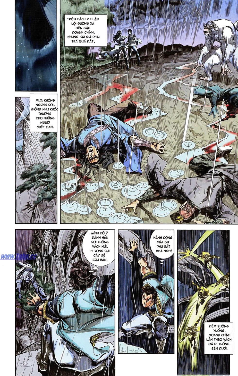 Tần Vương Doanh Chính chapter 18 trang 6