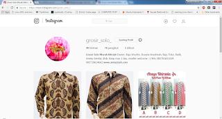 upload foto ke instagram menggunakan browser