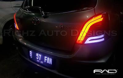 modifikasi lampu belakang mobil by richz auto designs