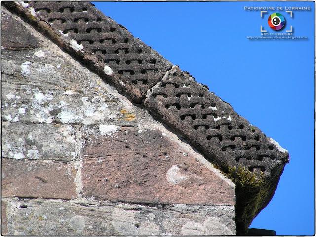 CHAMP-LE-DUC (88) - Eglise romane Notre-Dame (Extérieur)