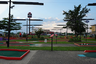 The Putt Putt Fun Center in Richmond, Indiana. Photo by Tom Loftus and Robin Schwartzman at A Couple of Putts