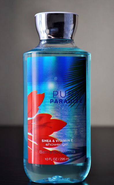 Another Day In Paradise...Bath & Body Works' Pure Paradise Shower Gel