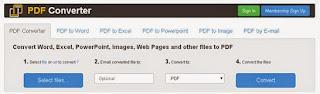 Free PDF Converter converter Word to PDF