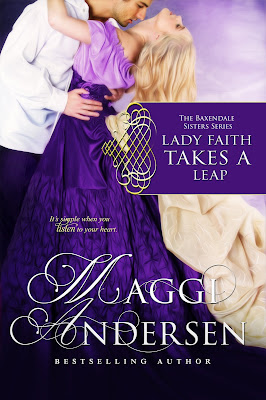Lady Faith Takes a Leap by Maggi Andersen Historical Romance Cover