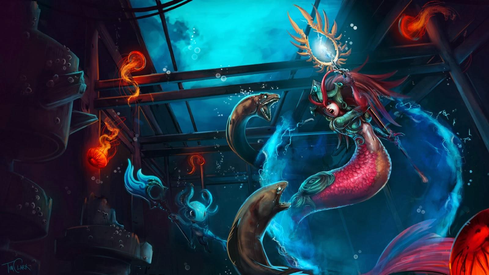 Nami Wallpaper Hd League Of Legends Nami Wallpapers Desktop