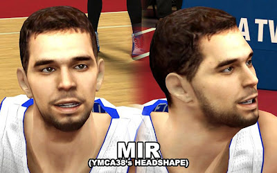 NBA 2K13 Jose Calderon Cyberface Patch