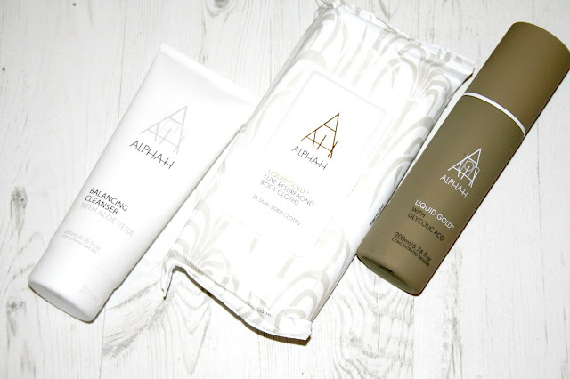 Alpha-H The Liquid Gold Head To Toe Resurfacing Collection TSV on QVC