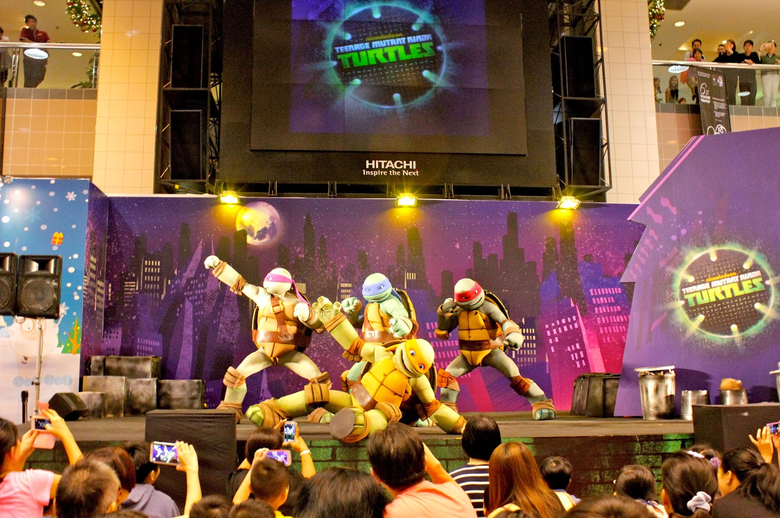 meet the ninja turtles live